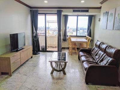 เช่าคอนโดสีลม บางรัก : For Rent Si Phraya River View ( 64 square metres )