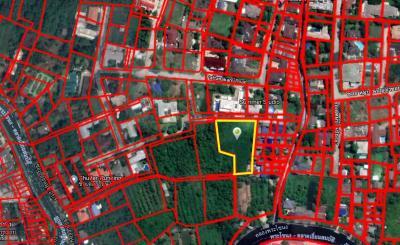 For SaleLandPattanakan, Srinakarin : Land for sale In the village of Panya Pattanakarn no longer exists