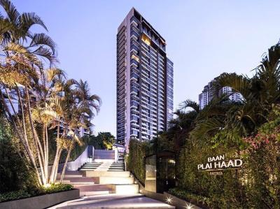 For SaleCondoPattaya, Bangsaen, Chonburi : Sale/Rent Condo Baan Plai Haad Pattaya (55 sq.m/20th floor) @Wong Amat Beach, Sea View