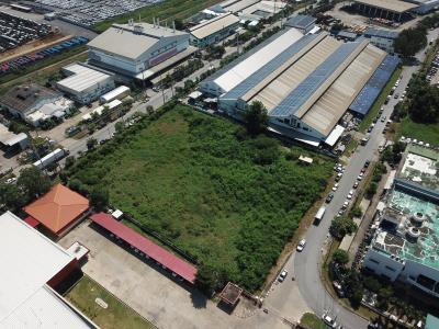 เช่าที่ดินลาดกระบัง สุวรรณภูมิ : ให้เช่าที่ดิน5ไร่ สำหรับทำโรงงงาน ใจกลางนิคมอุสาหกรรมลาดกระบัง