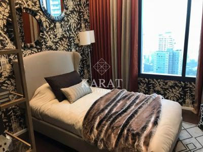 For RentCondoSukhumvit, Asoke, Thonglor : For rent at The Diplomat 39 Phrom Pong luxury condo fully furnished near BTS Phrom Phong Station 3 Bed 4 Bath 53 Sq.m 170,000 THB