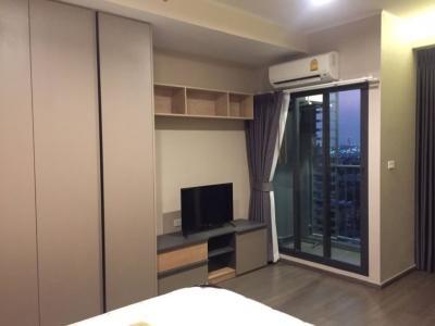 เช่าคอนโดอ่อนนุช อุดมสุข : ให้เช่าห้องใหม่ 26 sqm F21 Condo Ideo Sukhumvit 93 (80 m. to BTS Bang Chak) วิวแม่น้ำ