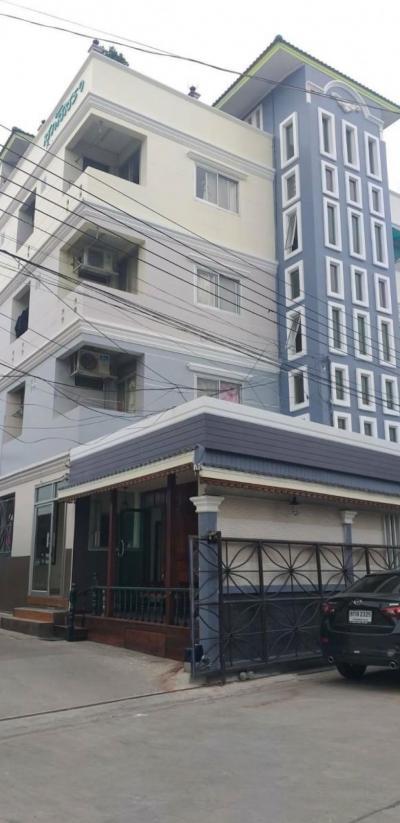 ขายขายเซ้งกิจการ (โรงแรม หอพัก อพาร์ตเมนต์)ลาดกระบัง สุวรรณภูมิ : ขายถูกอพาร์ทเมนเซอร์วิส บนถนนลาดกระบัง อ่อนนุช 317 วา มี 89 ห้อง