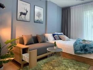 For SaleCondoOnnut, Udomsuk : sell!! Condo in the heart of the city, Elio Sukhumvit 64, only 650 meters from Punnawithi BTS