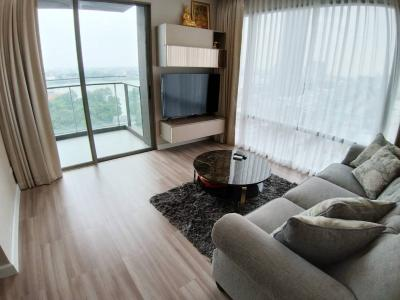 For RentCondoRama3 (Riverside),Satupadit : Starview Rama 3 - Beautifully Furnished 2 Bed / Corner Unit With Open Riverview / 82 Sqm / Call 0948287879