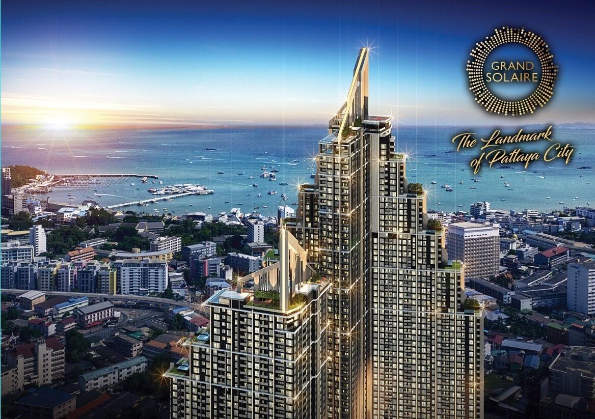 "PATTAYA'S TALLEST PROJECT ""THE GRAND SOLAIRE"" New landmark on the Pattaya City Skyline Price 1.69MB"