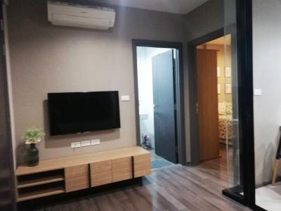 For SaleCondoOnnut, Udomsuk : For sale with tenants, The base Park West Sukhumvit 77, high floor, 1 bedroom 32 sqm. 3.85