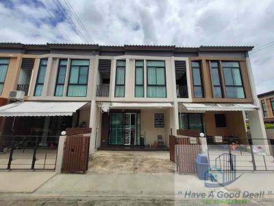 ขายบ้านแจ้งวัฒนะ-เมืองทอง : ทาวน์โฮม 2 ชั้น 22 ตร.วา ม.มายเพลส ติวานนท์-ปากเกร็ด 56