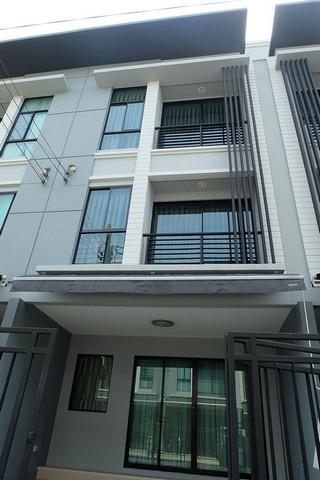 ขายทาวน์โฮม3ชั้นบ้านกลางเมือง รัตนาธิเบศร์ใกล้MRT สถานีแยกนนทบุรี 1