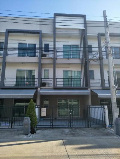 เช่าบ้านอ่อนนุช อุดมสุข : ให้เช่าทาวน์โฮม3ชั้นบ้านกลางเมืองสุขุมวิท 77ซอยอ่อนนุช 17ใกล้BTSอ่ออนุช