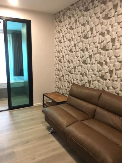 เช่าคอนโดบางนา แบริ่ง : ให้เช่า Notting Hill – Sukhumvit 105 :ตึกA ชั้น.3 (วิวสวนในโครงการ)