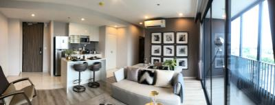 For SaleCondoOnnut, Udomsuk : Urgent sale, Ideo Mobi Sukhumvit 66, cell project posted by myself. New room from the project, 2 bedrooms, 2 bathrooms, 3 parking spaces, starting at only 9.99 million