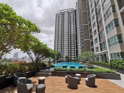 ขายดาวน์คอนโดพระราม 9 เพชรบุรีตัดใหม่ : ขายถูกมาก ! คอนโด Supalai Veranda Rama 9 แบบ 2 bedroom 62.5 ตรม. ห้องมุม ชั้น 27 Tower B ราคา 6.15 ลบ.ทิศใต้