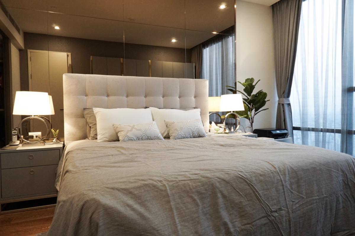 ขายคอนโดสาทร นราธิวาส : ขายคอนโด1ห้องนอน ชั้นสูง วิวแม่น้ำ ติดบีทีเอสสุรศักดิ์