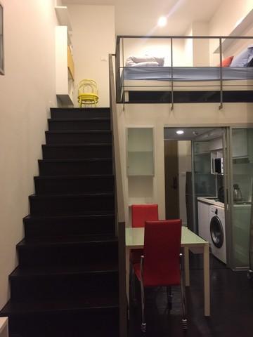 For RentCondoSukhumvit, Asoke, Thonglor : Condo for rent Ashton - Ideo Mophh38, Duplex room, near BTS Thonglor