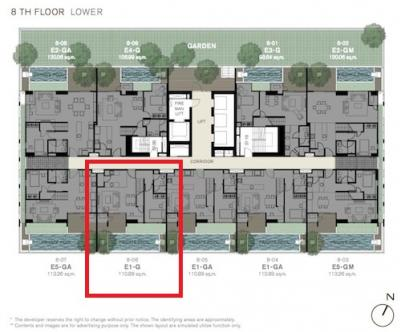 For SaleCondoSukhumvit, Asoke, Thonglor : Ashton Morph 38 - RARE Duplex Unit With Private Swimming Pool / 2 Bedrooms / 109.6 Sqm / Call 0948287879