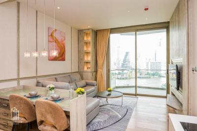 เช่าคอนโดวงเวียนใหญ่ เจริญนคร : Magnolia waterfront residences (Iconsiam) For Rent 1bedroom 60.58 sqm. for rent nice view (11th Floor) THB 60,000 per month