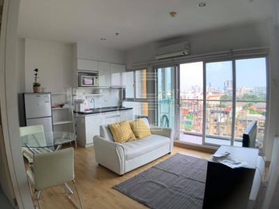 เช่าคอนโดท่าพระ ตลาดพลู : For Rent The Parkland Taksin - Thapra ( 40.5 square metres )