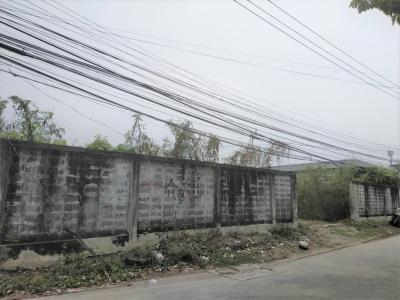 ขายที่ดินลาดกระบัง สุวรรณภูมิ : ขายที่ดินแปลงสวย ถมแล้ว ใกล้สวนหลวง ร. 9 ระยะเดินได้