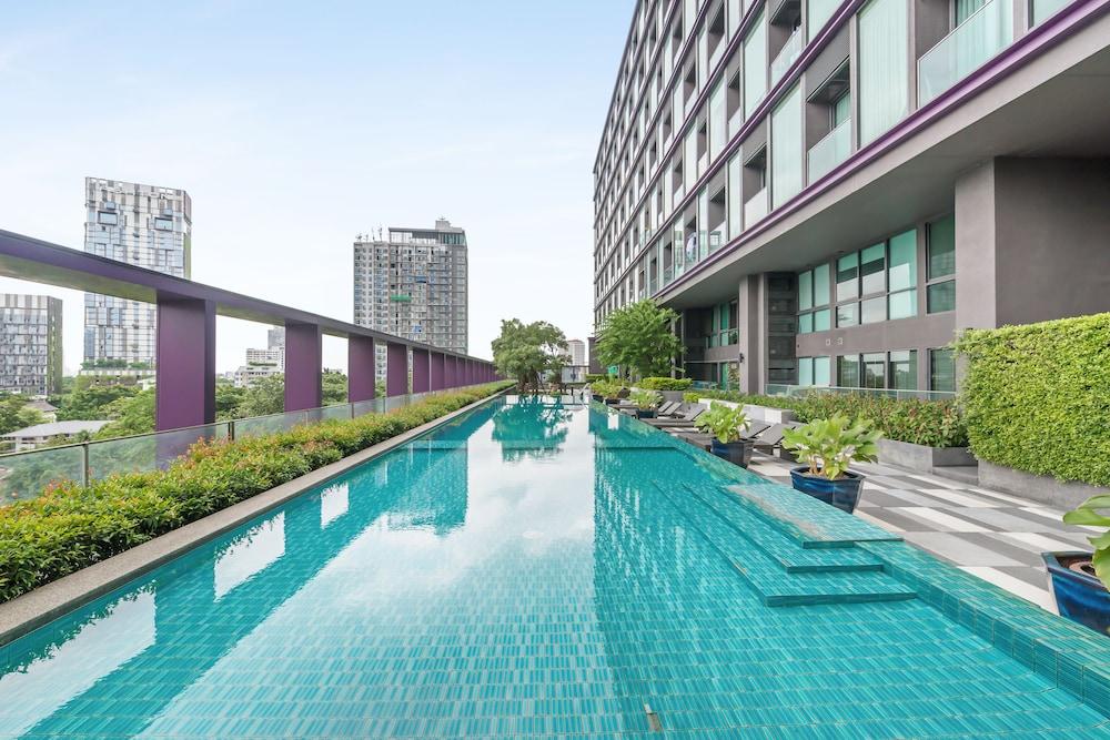 ขายคอนโดสุขุมวิท อโศก ทองหล่อ : The best offer (only 13x,xxx/sq m.) Studio 1B size 38 City view, Fully furnished, Very good conditioned Sell 4.99 MB (BTS Thonglor)
