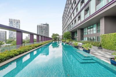 For SaleCondoSukhumvit, Asoke, Thonglor : The best offer (only 14x,xxx /sq m.)‼️1B 1B size 62 sq m. Beautiful view, Fully furnished, Very good conditioned Sell 9.1 MB only (BTS Thonglor)