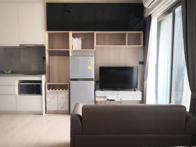 เช่าคอนโดท่าพระ ตลาดพลู : For Rent Whizdom Station Ratchada Thaphra 1 bed 28 sq.m.