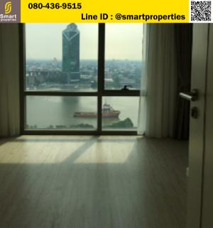 For SaleCondoRama3 (Riverside),Satupadit : Condo for sale Star View Rama 3, position A1, corner room, full river view, size 82 sqm., 29th floor, price 11.8 million