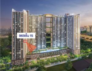 For SaleCondoRama9, RCA, Petchaburi : #### Sell 1 Bed and Studio, Pool View, Supalai Veranda, Rama 9 (empty room) ###