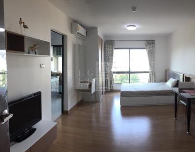 For RentCondoBangna, Lasalle, Bearing : For Rent Supalai City Resort Sukumvit 105 (33 square meters)