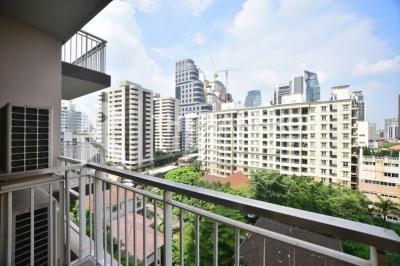 ขายคอนโดสุขุมวิท อโศก ทองหล่อ : Garden view 1B high floor size 60, Fully furnished, Very good layout, Sell 8.85 MB (only 14x,xxx/sq. m.)
