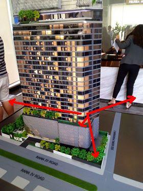 ขายดาวน์คอนโดคลองเตย กล้วยน้ำไท : ขายด่วนบวก 10,000 The Tree สุขุมวิท-พระราม4 ห้องมุม 911 ชั้น 9 ตำแหน่ง 11 ขนาด 32.30 ตรม Rare Item สุดสุด กระจกโค้ง ราคารอบ VVIP