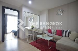 For SaleCondoRatchadapisek, Huaikwang, Suttisan : 5 million, we do not sell, sell only 4.X million !! Rhythm Ratchada, large room size 46 square meters, very beautiful room, attractive price Make an appointment to see every day