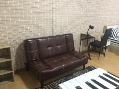 เช่าคอนโดบางนา แบริ่ง : ศุภาลัย สถานีแบริ่ง ห้องนี้ตกแต่งสไตล์เกาหลีครับ เน้นโทนสีน้ำตาล มีแบบนี้แค่ห้องเดียวในร้อยกว่าห้อง