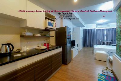 ขายคอนโดเชียงใหม่-เชียงราย : ขายศุภาลัย มอนเต้ 1 Supalai Monte @ Viang ชั้น 23 ,  33 ตรม. 1.95 ลบ. เชียงใหม่