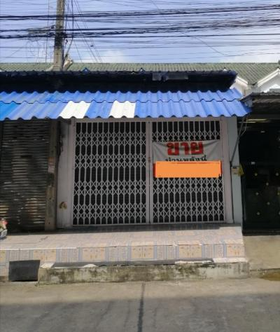 For SaleTownhouseMahachai Samut Sakhon : Townhouse for sale, second hand, commercial location (Tha Chin Housing)