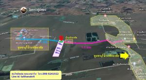 For SaleLandAyutthaya : Urgent ... Land for sale, good location, next to the road on 2 sides, electricity + water supply through the front of the land, area 39 rai 3 ngan 28 square wa, front 100 m. In front of the highway, Plai Klat Subdistrict, Bang Sai District, Phra Nakhon Si