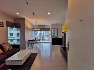 For SaleCondoRatchadapisek, Huaikwang, Suttisan : Sale with tenant The Room Ratchada-Ladprao, MRT Lat Phrao 62 sqm., Building A, 6th floor, fully furnished 5.59