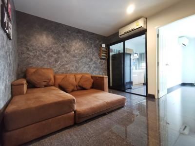 For SaleCondoKasetsart, Ratchayothin : Urgent sale !!! Condo The Niche ID Ladprao - Wang Hin Clear angel room Decorate the whole room Granito flooring Sale with tenants