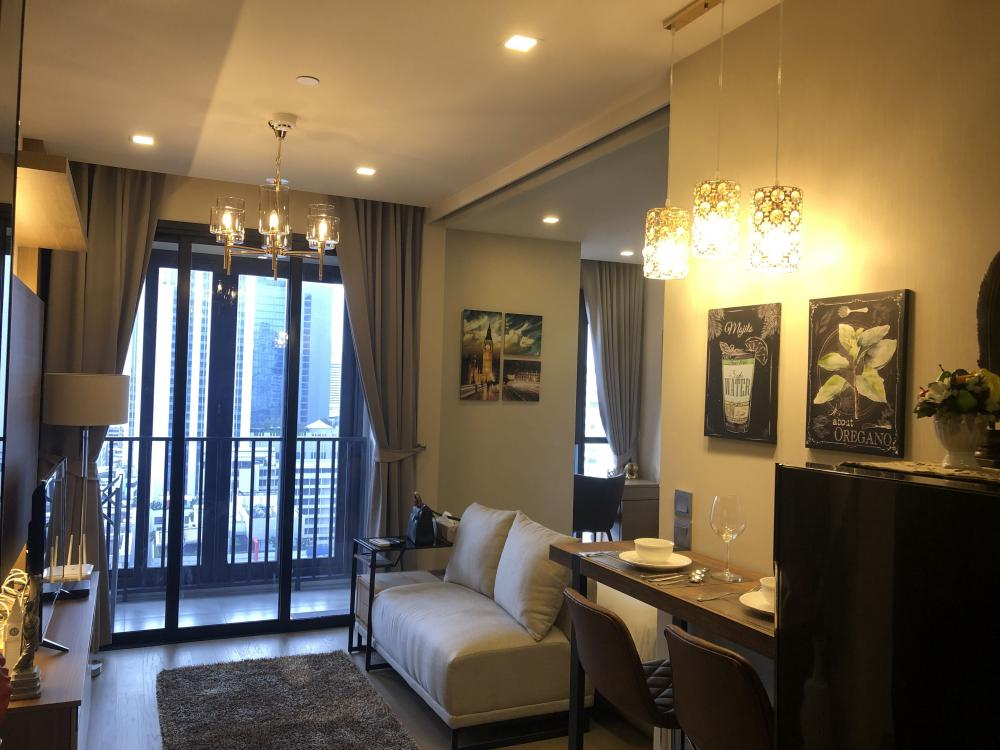 For RentCondoSukhumvit, Asoke, Thonglor : Condo for rent at  Ashton Asoke Price for Rent: 30,000Unit No: 1821Bed:1 Bath:1 Floor:18 Size:34 Sqm. Fully Furnished