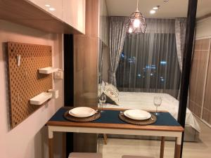 For RentCondoRama9, RCA, Petchaburi : 🔥 Very beautiful room 🔥 Life Asoke 1 Bedroom, complete electrical appliances, ready to move in 095-249-7892