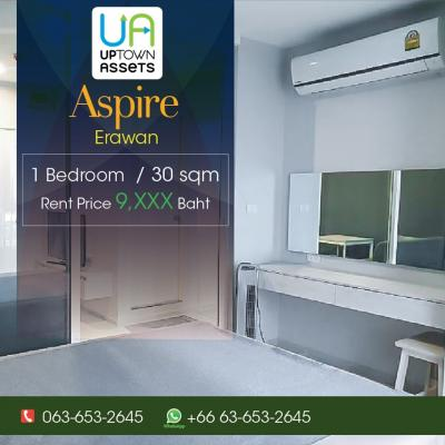 For RentCondoSamrong, Samut Prakan : For Rent Aspire Erawan  62/106
