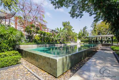 ขายคอนโดสุขุมวิท อโศก ทองหล่อ : Quattro by Sansiri: 1ฺB size 55 (only 19x,xxx/sq. m.) Beautiful city view, High floor, Fully furnished, Nice layout, Sell 10.75 MB
