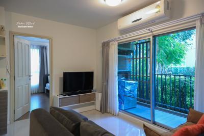 For RentCondoChiang Mai, Chiang Rai : 60 Sqm D Condo Nim 1st floor 2 bedroom Apartment Near Central Festival Rent: 25,000 Baht/month