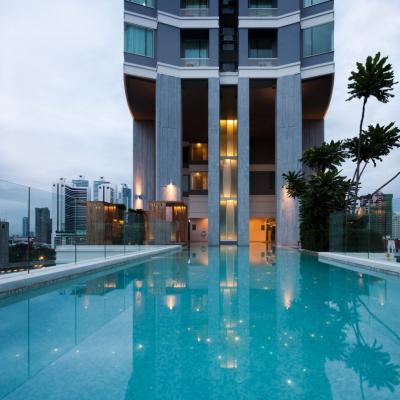ขายคอนโดสุขุมวิท อโศก ทองหล่อ : 39 by Sansiri: The Best offer 2B very high floor size 80.7, East view, Unblocking, Fully furnished, Sell 15.3 MB (only 18x,xxx/sq. m.)