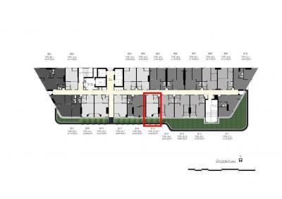 ขายดาวน์คอนโดคลองเตย กล้วยน้ำไท : The Tree Rama 4 ห้องติดสวนส่วนตัว ราคาหน้าสัญญาเพียง 3.08 ล้าน