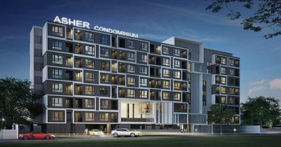 ขายคอนโดรัชดา ห้วยขวาง : ขายด่วน ราคาถูกที่สุด New Condo Asher Ratchada ใกล้ MRT สุทธิสาร 27 ตร.ม 1 นอน ชั้น 3 วิวโล่ง ทิศเหนือ เจ้าของขายเอง