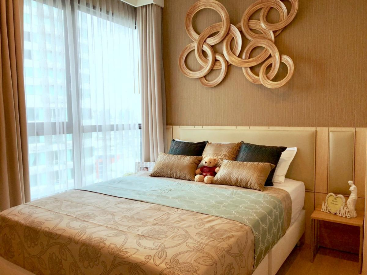 For RentCondoSukhumvit, Asoke, Thonglor : Quick rental, two bedrooms, two bathrooms, beautiful decoration, high floor, just rent 70,000 baht with all electrical appliances