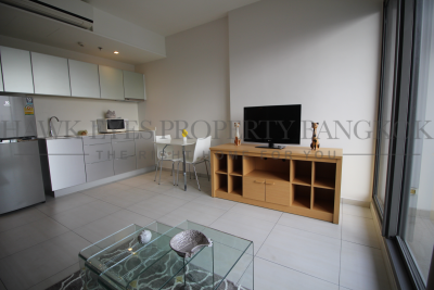 เช่าคอนโดสุขุมวิท อโศก ทองหล่อ : 1 bedroom 1 bathroom for sale and for rent. The quality project develops by Raimond Land, located on Sukhumvit road.