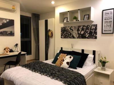 For RentCondoSiam Paragon ,Chulalongkorn,Samyan : Urgent rent, Ideo Q Chula-Samyan Condo, fully furnished, fully furnished Rent only 21,000 baht