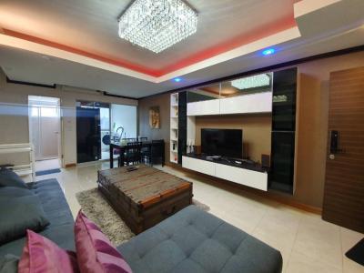 For RentCondoRama9, RCA, Petchaburi : For rent 1 Bedroom plus walk-in closet, Fully furnished